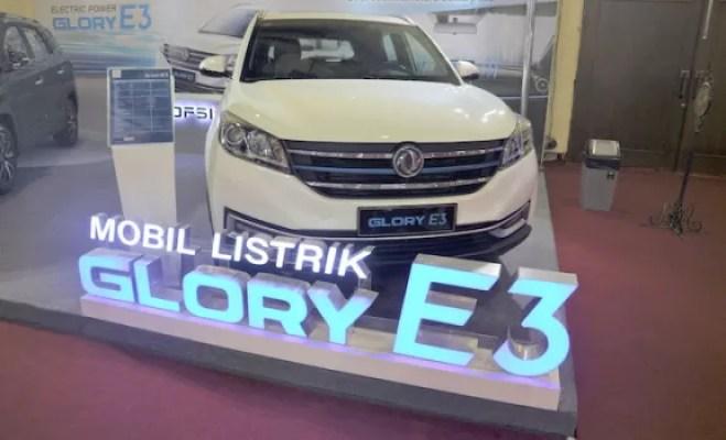 DFSK Glory E3 Bukti Teknologi Mobil Listrik