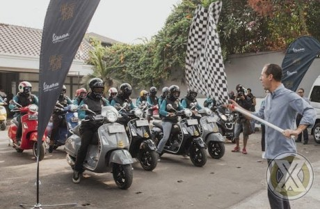 Vespa GTS Super Tech 300 Terbaru Dijajal Jakarta - Sentul