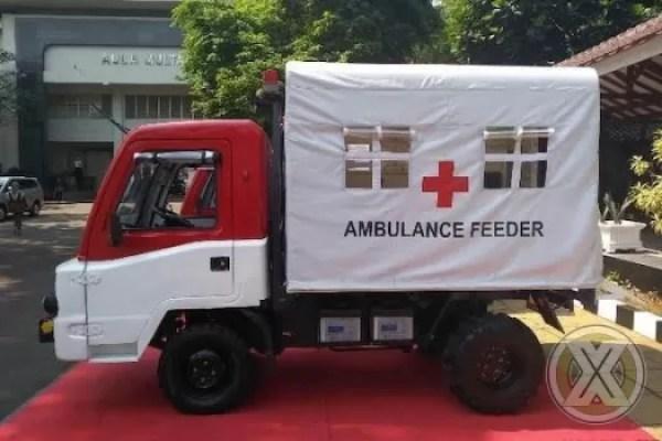 Seorang Ibu Melahirkan Di AMMDes Ambulance Feeder di Banten