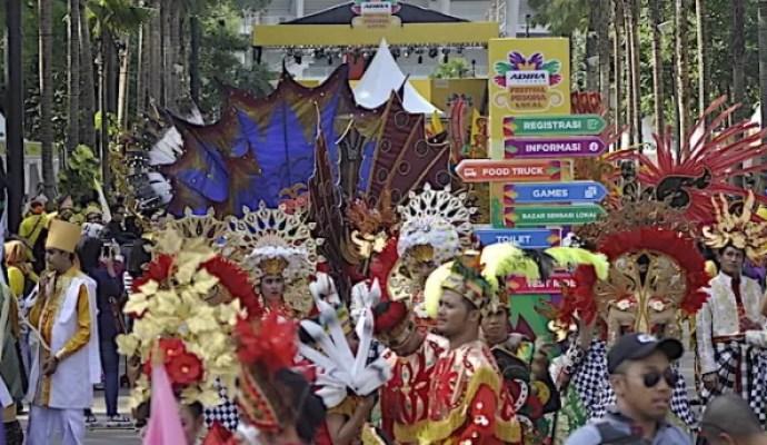 Festival Pesona Lokal Adira Finance Di Tutup Di Jakarta Dengan Meriah