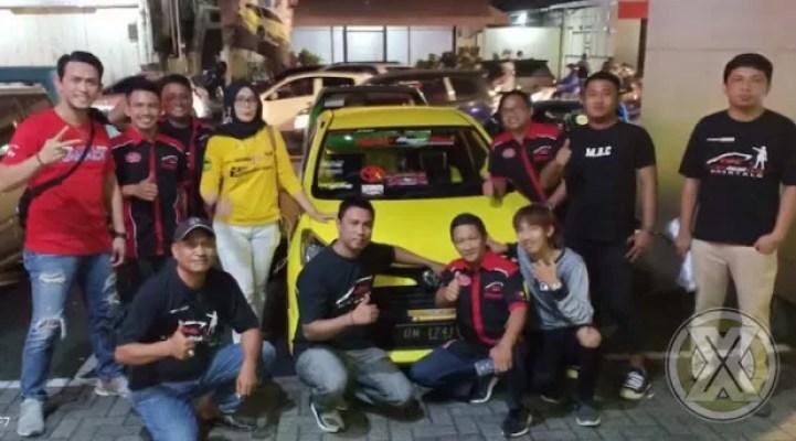 Cara Toyota Agya Club (TAC) Chapter Manado Rayakan Ultah Ke-2