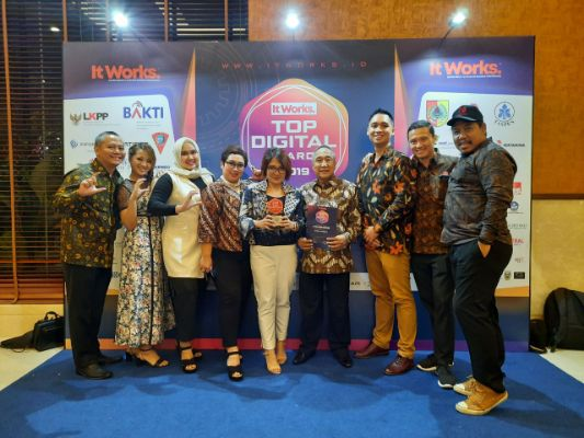 Cashwagon Indonesia Raih Juara Top Startup P2P Lending 2019 dalam acara Top Digital Awards