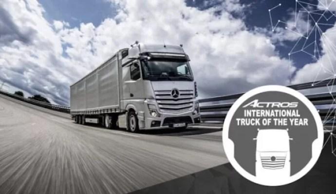 Mercedes Benz New Actros Pilihan Jurnalis Eropa Menjadi Truk Terbaik