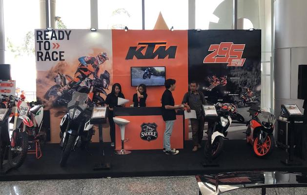 Diler Baru KTM Surabaya Di International Indonesia Motor Show 2019