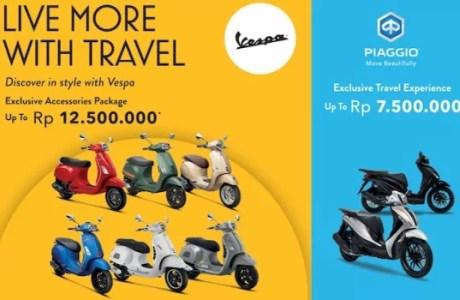 """Piaggio Indonesia Hadirkan Program """"Live More with Travel"""" Di Penghujung Tahun"""
