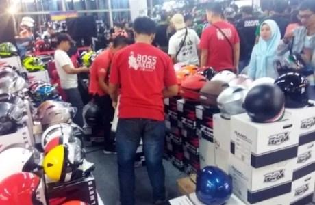 Jakarta Helmet Exhibition Kembali Hadir di FX Sudirman