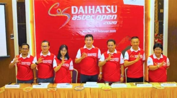 Turnamen Bulutangkis Daihatsu Astec Open 2020 Di Medan
