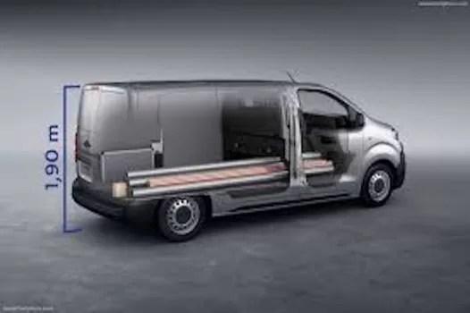 Mobil Niaga Listrik Peugeot e-Expert