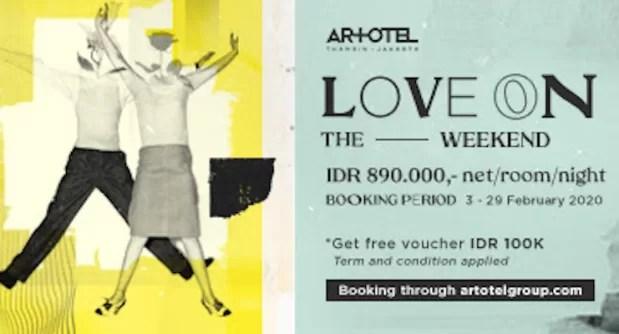 Rayakan Valentine Bersama ARTOTEL Thamrin Jakarta