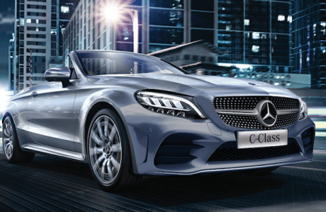 The new Mercedes-Benz C-Class Cabriolet