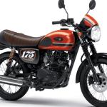 Kawasaki W175 CAFE Dengan Warna dan Grafis Baru