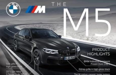 Spesifikasi BMW M5 Edition 35 Years