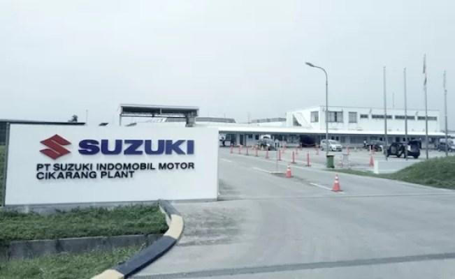 Suzuki Perpanjang Penghentian Pabrik Sementara