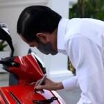 Motor Listrik Bertandatangan Jokowi Siap Dilelang