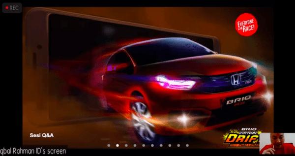 Brio Virtual Drift Challenge Menjadi Mobile Game Pertama
