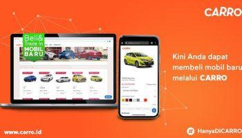 CARRO Jalin Kerjasama Dengan Tokopedia Rambah Pasar Mobil Baru