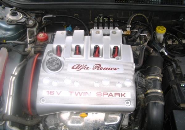 Alfa Romeo 147 BRC Platinum dolu
