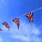 英国旗と空