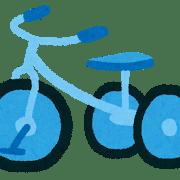 子供自転車補助なし2