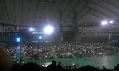 ザ・ポリスのライブを東京ドームで観る