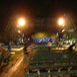 写真はボケボケなので雰囲気だけ:「小松亮太&オルケスタ・ティピカ」のコンサートを観ました