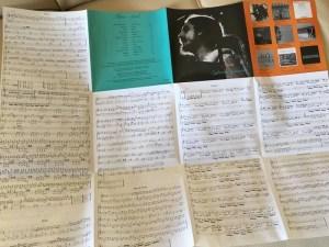エグベルト・ジスモンチの『アルマ』:CDのジャケットにはピアノ譜が印刷