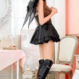 【コスプレイヤー実践】今年のハロウィンパーティーは居酒屋貸し切りセクシーデビル魔女とキュートなコウモリ仮装に決めた!