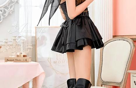 【コスプレイヤー実践解説】今年のハロウィンパーティーは居酒屋貸し切りセクシーデビル魔女とキュートなコウモリ仮装に決めた!