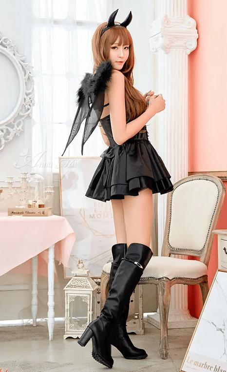 ハロウィンコスプレ 悪魔 小悪魔 コスチューム 衣装 セクシー デビル 魔女
