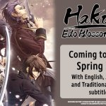 Idea Factory International Announces Hakuoki: Edo Blossoms Steam Release