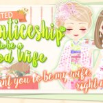 Event Info – My Sweet Proposal – Apprenticeship to be a Good Wife