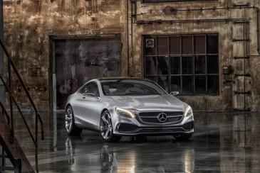 Mercedes-Benz S Class Coupe Ön