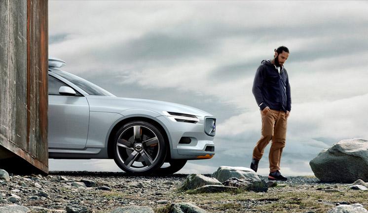 Volvo XC Coupe Teaser Ön