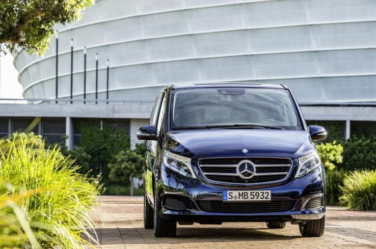 Mercedes-Benz V-Serisi Ön