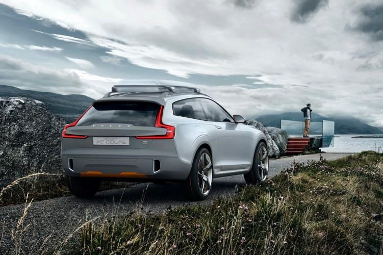 Volvo XC Coupe Arka