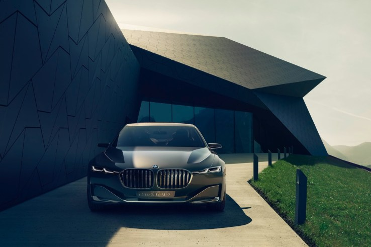 BMW Vision Future Luxury Konsepti Ön