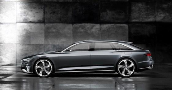 Audi Prologue Avant Konsepti Yan