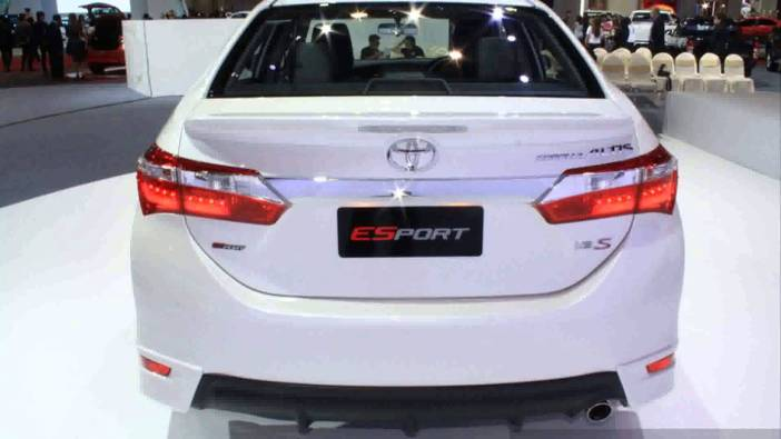 All New Corolla Altis 2015