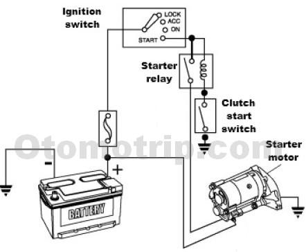 skema kelistrikan starter dengan saklar kopling?resize=442%2C364 trane baystat thermostat wiring diagram 4 wire thermostat wiring Trane HVAC Wiring Diagrams at mifinder.co