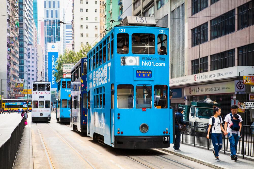 香港がたった32円で楽しめる路面電車(トラム)の乗り方や路線 ...