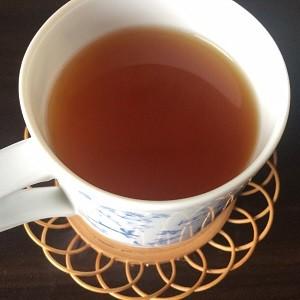 Quick slimを紅茶に入れた画像