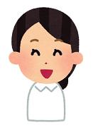 嬉しい表情の女性