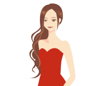 ボディラインが綺麗で美しいキャバ嬢の画像