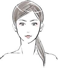 エイジングケアに成功して若く見える女性