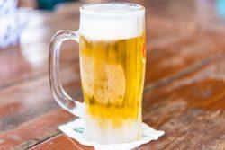 お風呂上りに飲むと美味しいビール