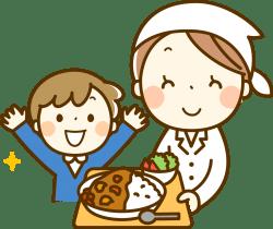 ママさん管理栄養士のイラスト