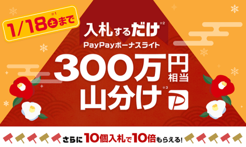 PayPayボーナスライト山分けキャンペーンの画像