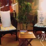 休憩室の椅子