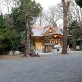 御朱印あつめ 全国的にも珍しい石臼塚がある 拝殿が改築されたばかりの小金井神社