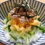 [レシピ]3色ツナマヨ丼の作り方
